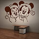 Decal Style Mickey & Minnie Wall Sticker Medium Size-21*15 Inch - B00WSMEGPS