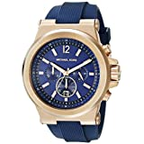 Michael Kors Men's MK8295 Dylan Rose Gold-Tone Stainless Steel Watch