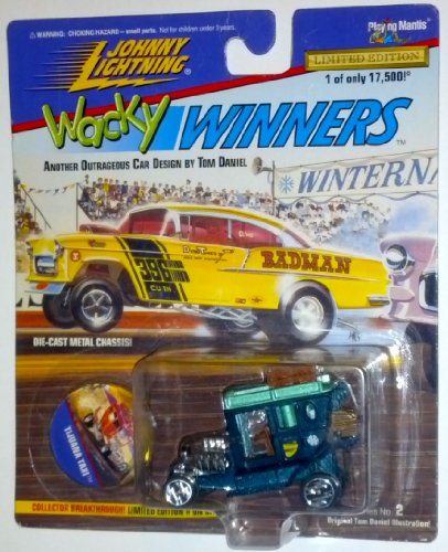 Johnny Lightning Wacky Winners Tijuana Taxi Die-Cast Vehicle Limited Edition 1 of 17,500