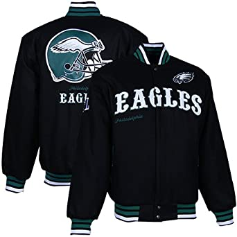 NFL Philadelphia Eagles First Down Wool Jacket Mens by MTC Marketing