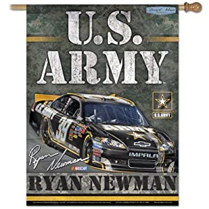 Ryan Newman Vertical Flag: 27x37 Banner by WinCraft