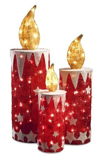 Christmas candle decoration candle decoration asian decorating ideas - Appealing christmas led candles for christmas decorations ...