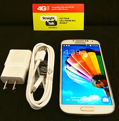 Samsung Galaxy S4 - For Straight Talk with Fast 4g LTE Data Verizon Towers by Samsung