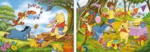 Clementoni 24502.4 - Puzzle 2 x 20 teilig Winnie The Pooh