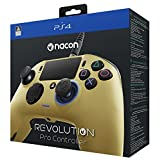 NACON Revolution PRO Controller Gamepad Gold Edition PS4 Playstation 4 eSports Designed (Color: Gold)