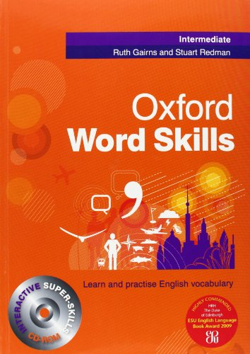 Word Skills Intermediate: (Book and CD-ROM)