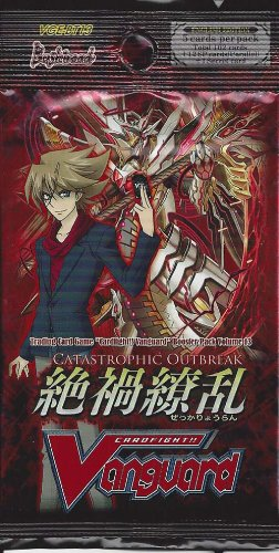 Cardfight Vanguard Catastrophic Outbreak 1x Booster Pack - 1