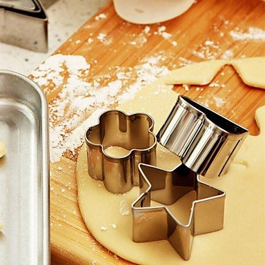 Orange ? 1Set Baking& Pastry Tools Stainless steel L3.42″W3.26″*H0.98″