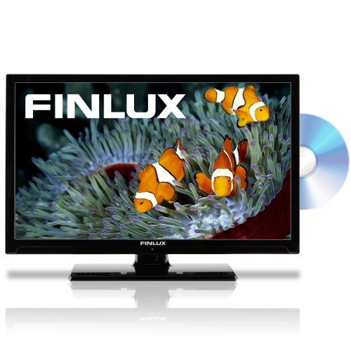 Image of Finlux 22F6050-D 22-inch Full HD 1080p Multi-Region LED TV/DVD Combi with Freeview and PVR (New for 2013) - Black