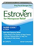 Estroven SLEEP COOLTM + CALM | Menopause Relief Dietary Supplement | Estrogen Free** | Helps Reduce Hot Flashes & Night Sweats* | | 30 Caplets