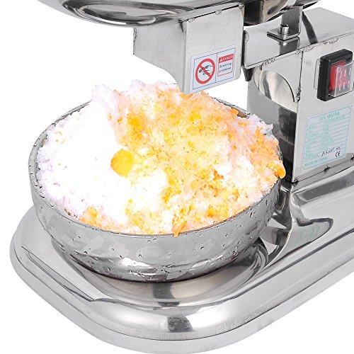 Countertop Ice Maker Crushed : ... Countertop Electric Ice Shaver Maker Crusher Snow Cone Machine, Silver
