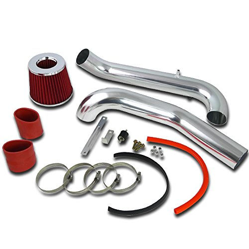 Spec-D Tuning AFC-CV96LXRD-AY Honda Civic CX DX LX 1.6L L4 Cold Air Intake+Red Filter (Civic Intake Kit compare prices)