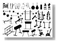 Gym Equipment (vector) - 30