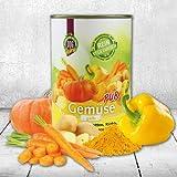 Bild: DOGREFORM Gemüse pur  gelb rein vegetarisch ideal zum BarfenSchonkost 1 x 410g