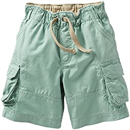 Carter\'s Baby Boys\' Cargo Shorts (Baby) - Mint - 3 Months