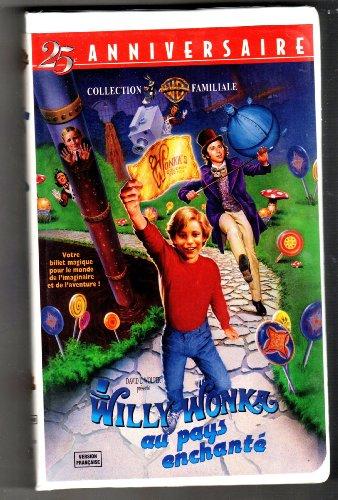 Willy Wonka Au Pays Enchanté, Édition 25e Anniversaire AKA Willy Wonka & the Chocolate Factory (FRANÇAIS, VHS, NTSC)