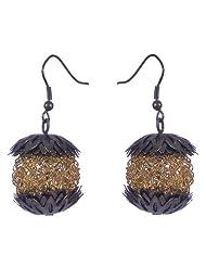 Inktree's Trending Smart Bicolor Shinning Smart Earrings For Women - B00IUJUUIA