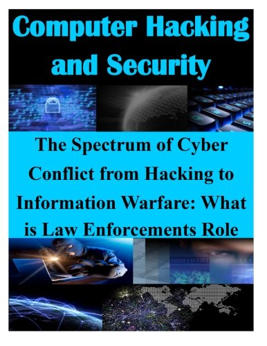 The Spectrum of Cyber Conflict from Hacking to Information Warfare: What is Law (Computer Hacking and Security) [Air Command and General Staff College] (Tapa Blanda)