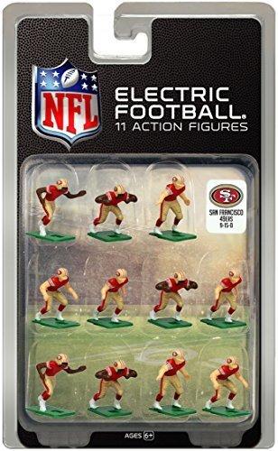 San Francisco 49ersÃ'Dark Uniform NFL Action Figure Set by Tudor Games