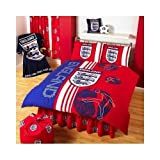 Matching Bedrooms England Red Scoreboard Double Duvet Setby Matching Bedroom Sets