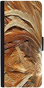 Snoogg Feathers 3 Texture Designer Protective Phone Flip Case Cover For Coolpad Note 3 Lite