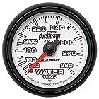 Auto Meter 7531 Phantom II 2-1/16 140-280 Degree Fahrenheit Mechanical Water Temperature Gauge