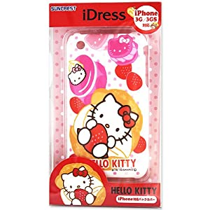 IPhone 3gs compatible cover idles white [Hello Kitty]