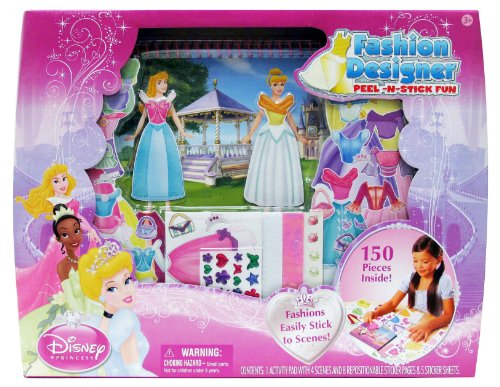 Tara Toy Princess Fashion Designer Peel And Stick - 1