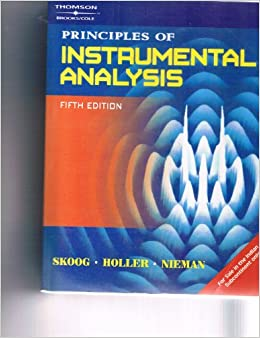 principles of instrumental analysis 6th solution 9 9-2 skoog/holler/crouch chapter 9 principles of instrumental analysis, 6th ed instructor's manual chapter 9 9-1 (a) a releasing agent is a cation that preferentially reacts with a species that would otherwise react with the analyte to cause a chemical interference.