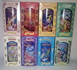 Burger King's 1994 Collectible Disney Plastic Cups Set Of 12 -