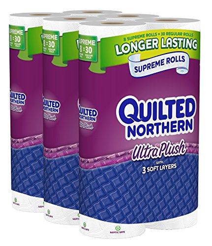 Quilted Northern Ultra Plush Bath Tissue, 24 Supreme
