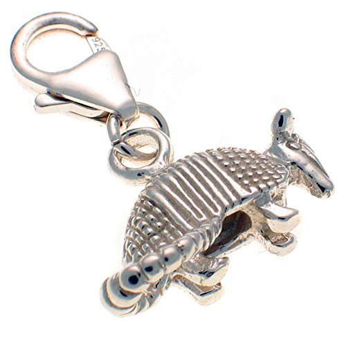 sterling-925-solid-silver-armadillo-clip-on-charm-handmade-by-welded-bliss-wbc1004