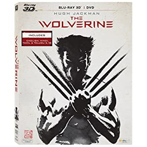Flat 50% Off on The Wolverine (3D) movie from Amazon at Rs 749