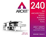 Arckit 240 Architectural Model Building Kit, 1/4 Scale, O Scale Construction Set