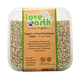Love Earth Organic Hulled Buckwheat 583g