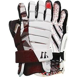 Warrior LD1 Lockdown Men's Goalie Lacrosse Gloves (Call 1-800-327-0074 to order)