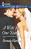 img - for A Wife for One Year (Harlequin Special Edition\Those Engaging) book / textbook / text book