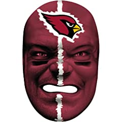 Buy Franklin Arizona Cardinals Fan Face Mask by Franklin