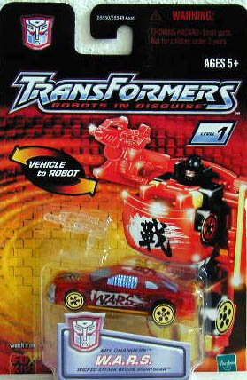 Transformers: Robots in Disguise Basic W.A.R.S. Action Figure