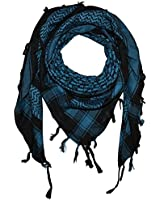 Freak Scene® Pali-scarf black ° PLO scarf ° 40x40 inch ° Pali Palestinian Arafat scarf ° 100% cotton - all colours!