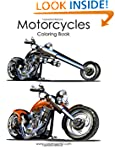 Motorcycle Coloring Book 1 (Volume 1)