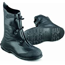 "ONGUARD 89802 PVC Gator Shoe with Lug Outsole, 12"" Height, Black, Size Medium"