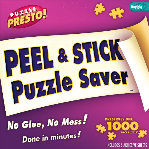 Puzzle Presto Peel and Stick Puzzle Saver, 6 Sheets