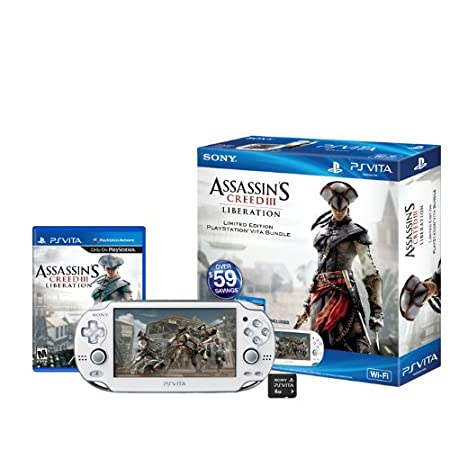 Assassin&#39;s Creed III Liberation PlayStation Vita Wi-Fi Bundle