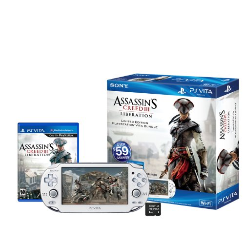 Assassin's Creed III Liberation PlayStation Vita Wi-Fi Bundle (Assassin Creed 3 Liberation compare prices)