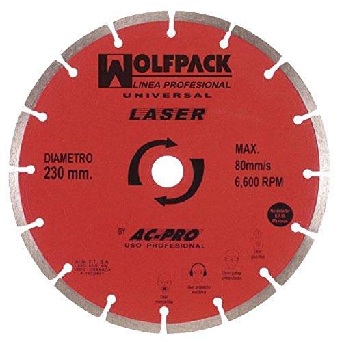 wolfpack-9010320-disco-diamante-wolfpack-segmentado-laser-230-mm