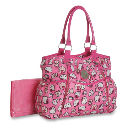 Hello Kitty Slinky Allover Print Tote (Discontinued by Manufacturer) - 1