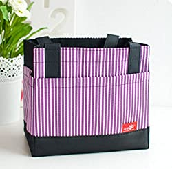 Thermal Lunch Box Bag - PURPLE