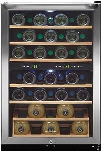 Frigidaire FFWC38F6LS 38 Bottle Capacity Stainless Steel Undercounter Wine Chiller