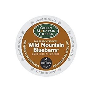 Green Mountain Coffee, Wild Mountain Blueberry K-Cup Portion Pack for Keurig Brewers